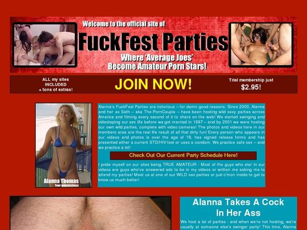 Accounts On Fuckfestparties.com