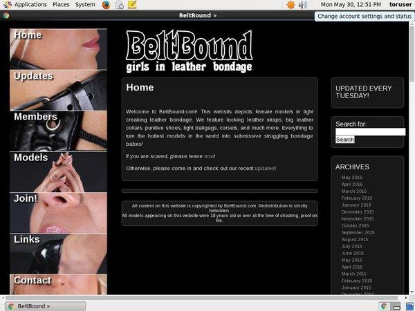 Beltbound.com Free Scene