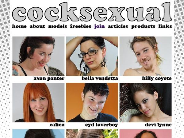 Cocksexual Solo