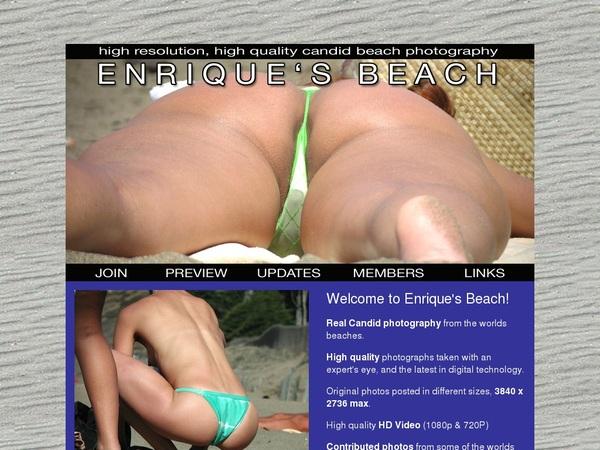 Enrique's Beach Movie
