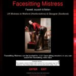 Facesitting Mistress Get Discount