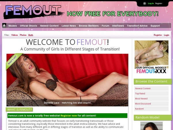 Free Femout Accounts And Passwords