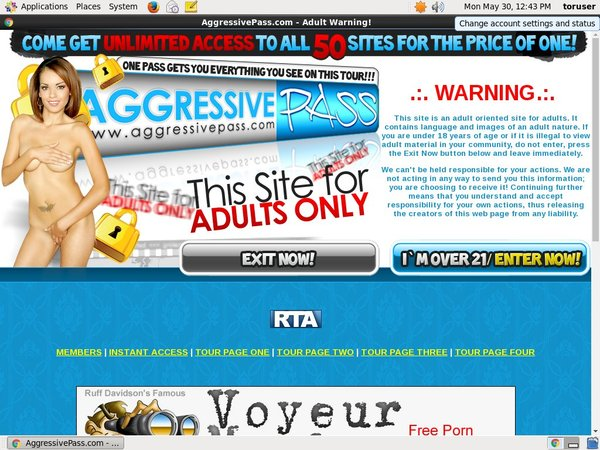 Join Aggressive Pass For Free