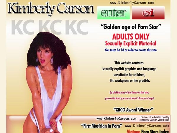 Kimberly Carson Trial Membership