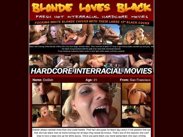 Premium Blondelovesblack.com Password