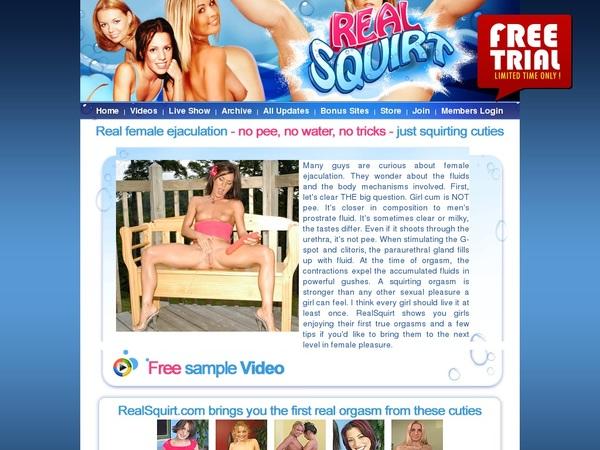 Realsquirt Porn Accounts