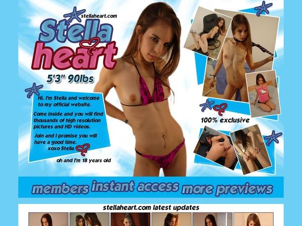 Stella Heart Premium Logins