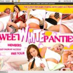 Sweet White Panties Video