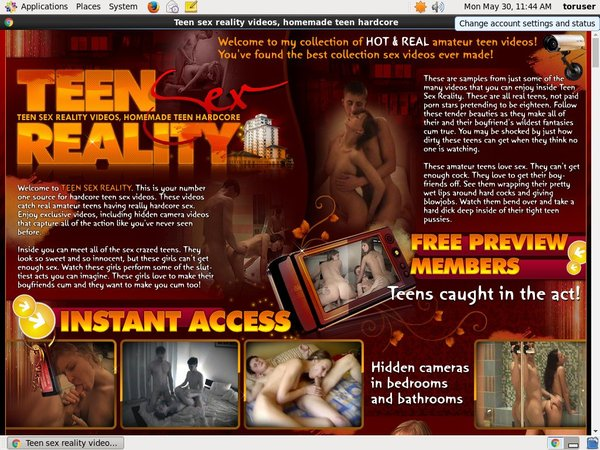 Teen Sex Reality Free Account