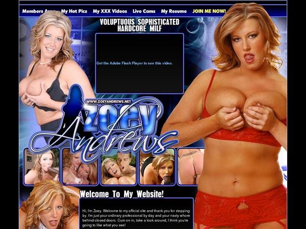 Zoey Andrews Passes
