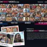 Accounts Free Czech First Video
