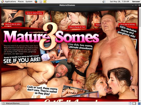 Mature 3 Somes With Paysafecard