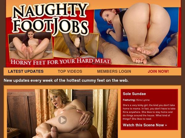 Naughty Foot Jobs Debit Card