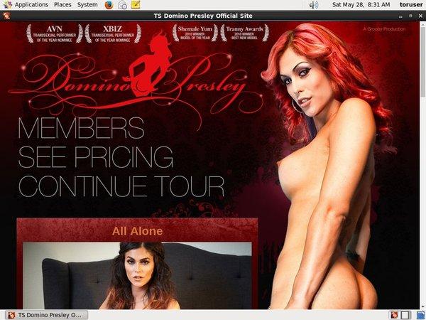 TS Domino Presley Pussy