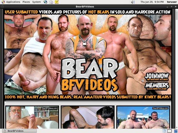 Bear BF Videos Sign