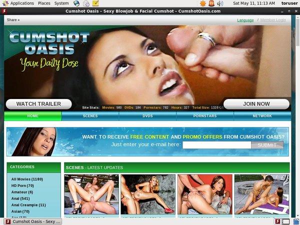 Cumshotoasis.com Girl