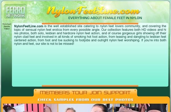 Free Logins For Nylon Feet Line
