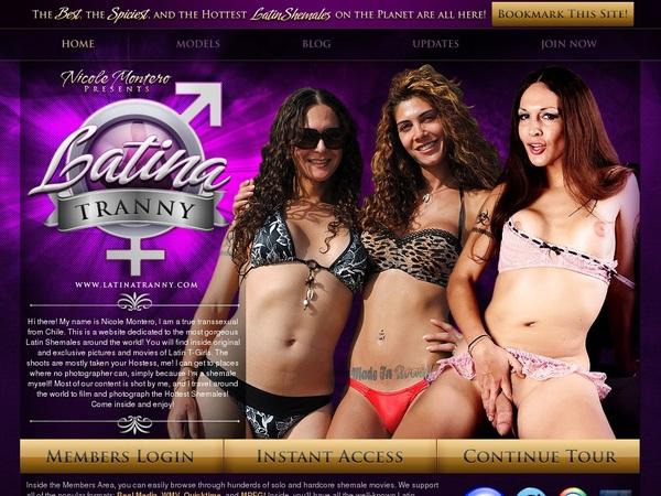 Latina Tranny Access