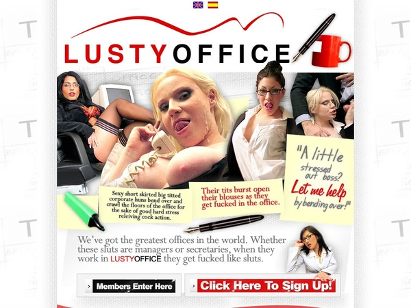 Lusty Office With Paypal