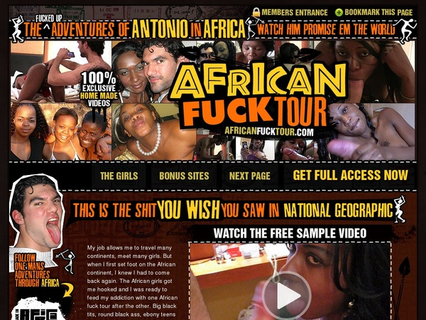 Discount African Fuck Tour