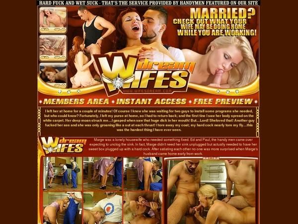 Wifesdream.com Free Passes