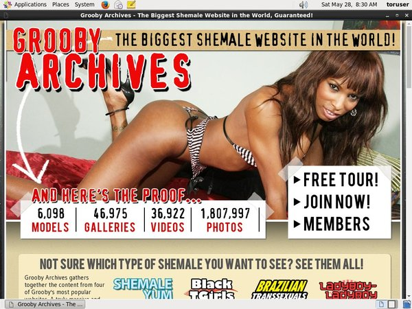 Grooby-archives.com Password Share