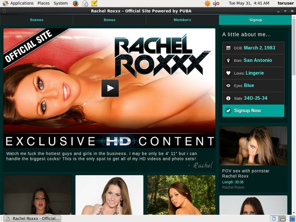 Inside Rachel Roxxx