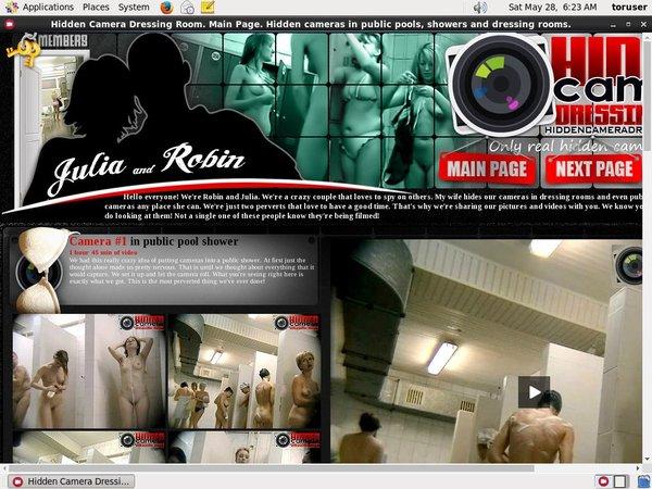 Hidden Camera Dressing Room Models
