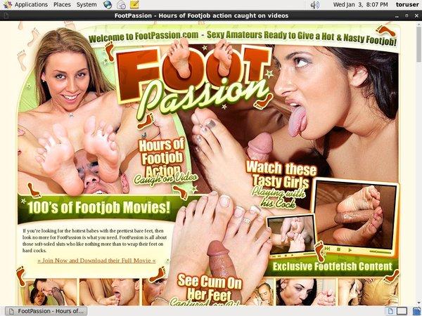 New Footpassion.com Accounts