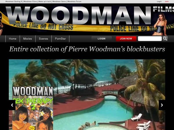 Woodman Films Working Passwords