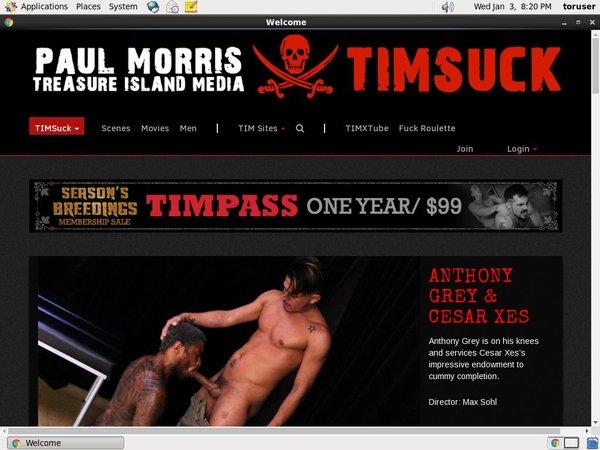 Free Timsuck Account