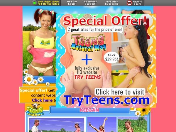 Free Accounts In Teensnaturalway.com